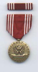 Army Good Conduct Award Medal with Ribbon Bar
